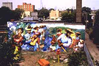 Chicago public art group for Chicago mural group